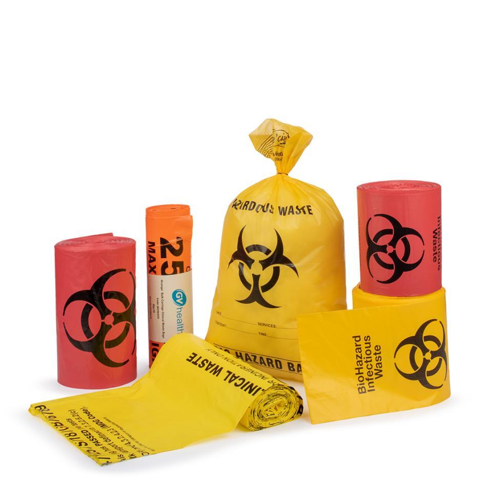 Biohazard Disposable Bags