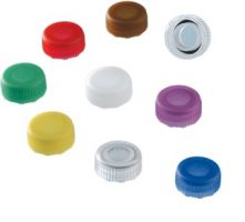 Screw cap For Micro Tubes, mixed colours