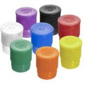 Push Cap ,Mixed Colours, For Tube 16-17mm