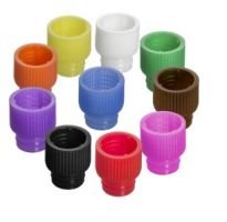 Push Cap For Tube 12MM, Mixed Colours