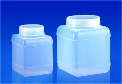 Bottles, Storage, Wide Mouth, Polypropylene