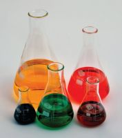 Erlenmeyer Flasks, Narrow Mouth, Borosilicate Glass