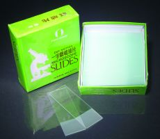 Microscope Slides, Glass, Frosted Ends