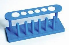 Test Tube Rack, Plastic, 6-Tube