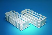 Test Tube Racks, Wet/Dry, Polypropylene