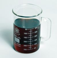 Beaker Mugs, Borosilicate Glass